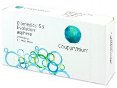 Biomedics 55 Evolution (6Lentillas)