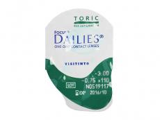 Focus Dailies Toric (30Lentillas)
