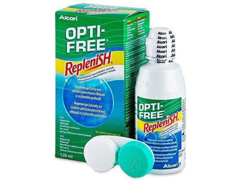 Líquido OPTI-FREE RepleniSH 120 ml