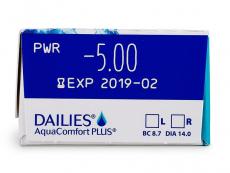 Dailies AquaComfort Plus (30Lentillas)