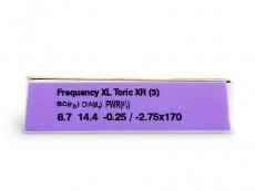 FREQUENCY XCEL ToricXR (3Lentillas)