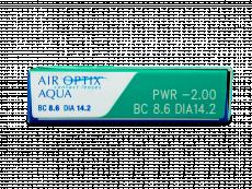 Air Optix Aqua (6Lentillas)
