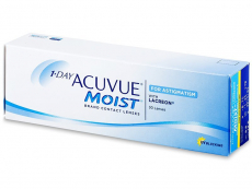 1 Day Acuvue Moist for Astigmatism (30Lentillas)